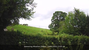 Live WebCam from Leavening, Ryedale, North Yorkshire, UK